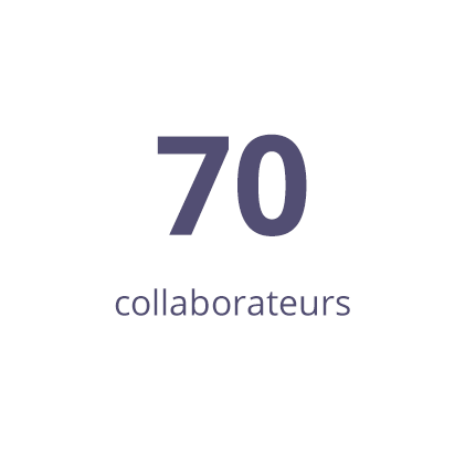 65 collaborateurs